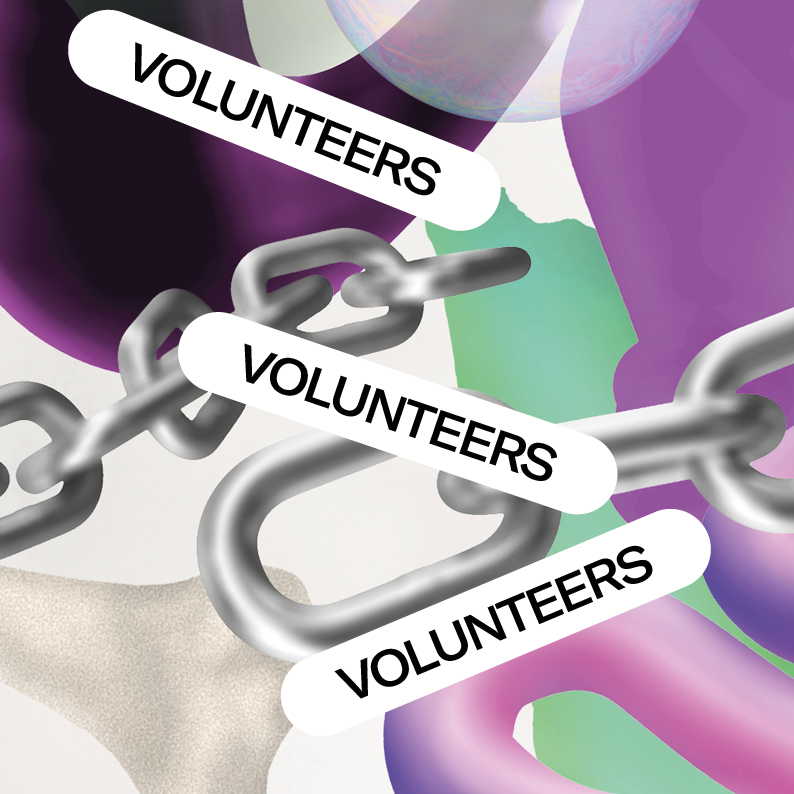 A MAZE. / Berlin 2021 is looking for volunteers