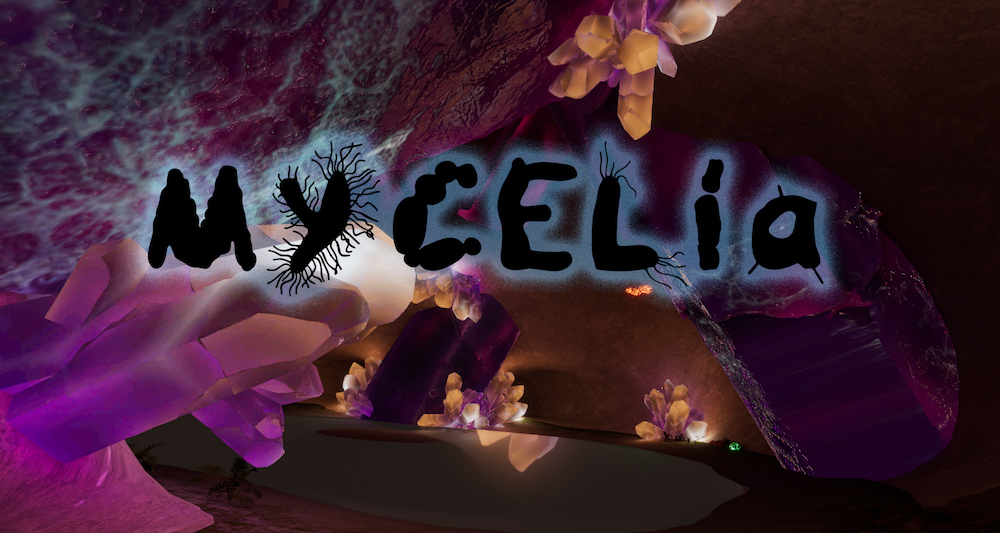 Nanotopia's Midnight Mushroom Music Living Mycelium